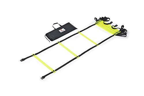 RHINOS sports Koordinationsleiter 4 Meter inkl. Tragetasche