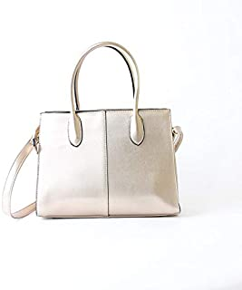 Lenz Top Handle Bag For Women, Beige, aM19-B045