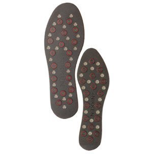 Nikken 1 mStrides Insoles, 20211, Men Shoe Sizes 7 to 12, Pair, Cut to Fit, Magnetic Therapy, Improve Blood Circulation, Kenko