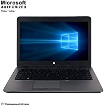 2019 HP ProBook Business Laptop, Intel Core I5 up to 3.1G, 8G DDR3, 1T HDD, WiFi, BT 4.0, VGA, DP, USB 3.0, 14INCH, Windows 10 64 Bit-Multi-Language(CI5)(Renewed)