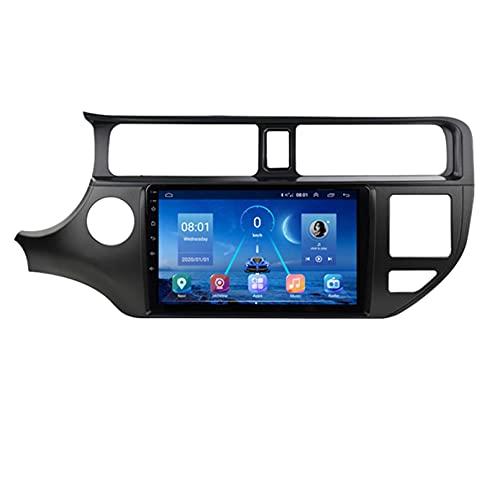 GOHHK para KIA K3 Rio Car Radio Android 2011-2017 GPS Navigaion 2din Multimedia Estéreo Antena DSP Carplay Streeting Sheeling Sony Cámara(Size:Ocho núcleos,Color:WiFi:1GB+16GB)