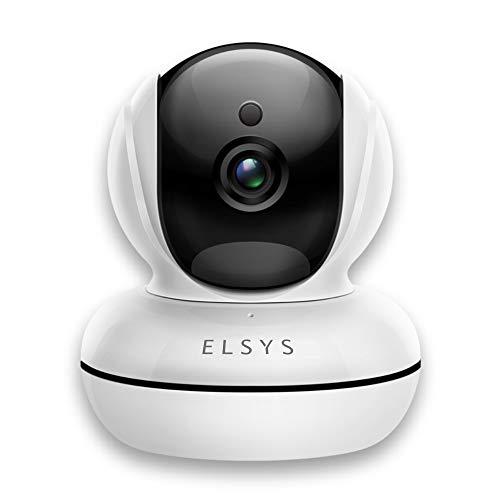 Câmera de Segurança Wifi Rotacional Interna ESC-WR2, ELSYS