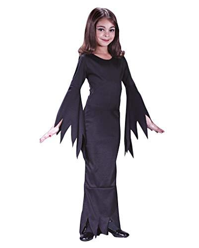Mme Morticia enfant Costume M