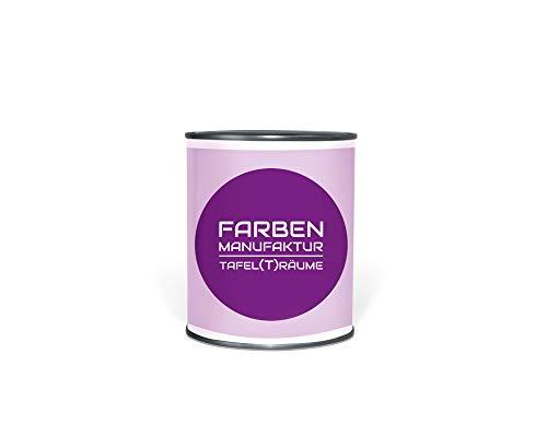 Farben Manufaktur Tafel(t) räume 0,5L, Tafelfarbe, Schultafellack, Blackboard Paint, Wandfarbe beschreibbar (0,5L, green)