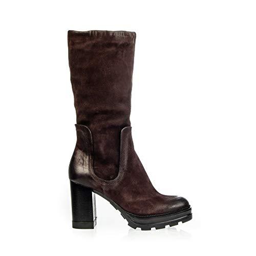 Mjus Stiefel 3/4 Wildleder 570302, Braun - Mokka - Größe: 37 EU