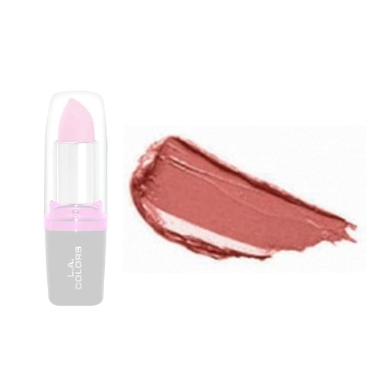 大きさ地図アリ(3 Pack) LA Colors Hydrating Lipstick - Flushed (並行輸入品)