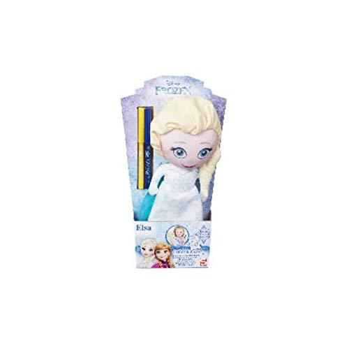 Colorie la robe d'Elsa Reine des Neiges