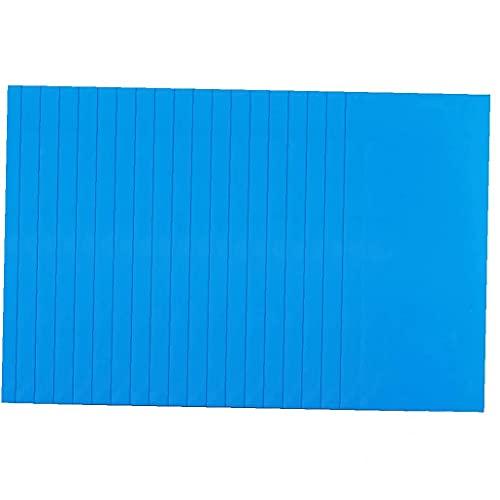 Ohomr PVC reparación Parches Impermeable Autoadhesivo Kit de reparación de Parches de reparación inflables para la Piscina 20pcs