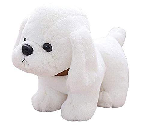 Zachte en schattige kussens Pluche kussens Knuffels Simulatie van honden Puppy Hond Pop Labrador Doll Verjaardagscadeau voor kinderen Wit 20 Cm Kerstmis