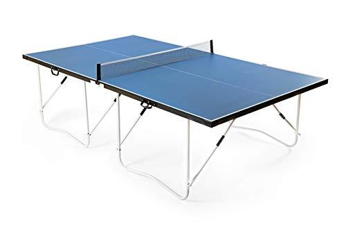 hj JH 9 Pies Mesa de Ping Pong Plegable Fácil de Montaje Estándar Internacional 🔥