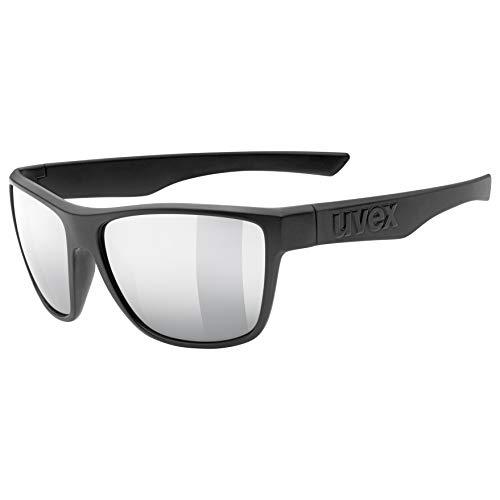 Uvex lgl 41 Gafas de sol, Adultos unisex, black mat, one size