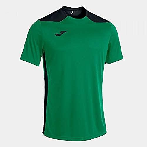 Joma Camiseta Manga Corta Championship Vi Verde Negro, S