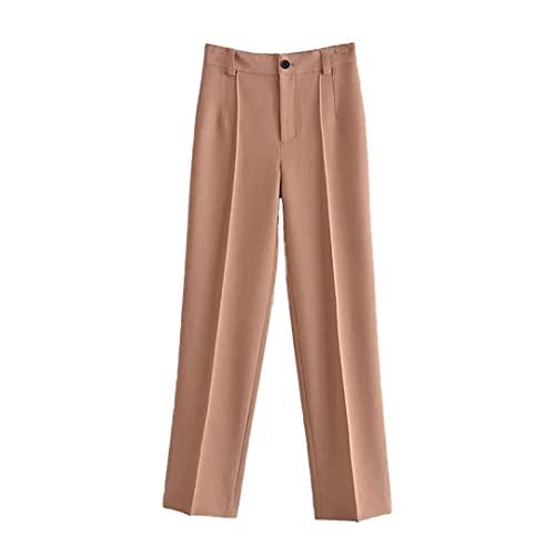 2021 Conjunto de 2 Piezas para Mujer Traje Blazers Pantalones Elegant Chic Lady Urban Outfits Trousers XS