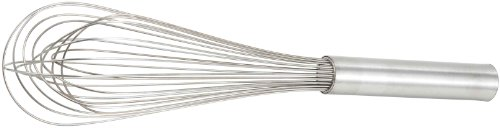 Winco PN-10 Stainless Steel Piano Wire Whip, 10-Inch