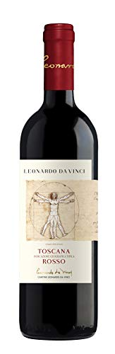 Leonardo da Vinci Rosso Toscana IGT Sangiovese 2019 Trocken (1 x 0.75 l)