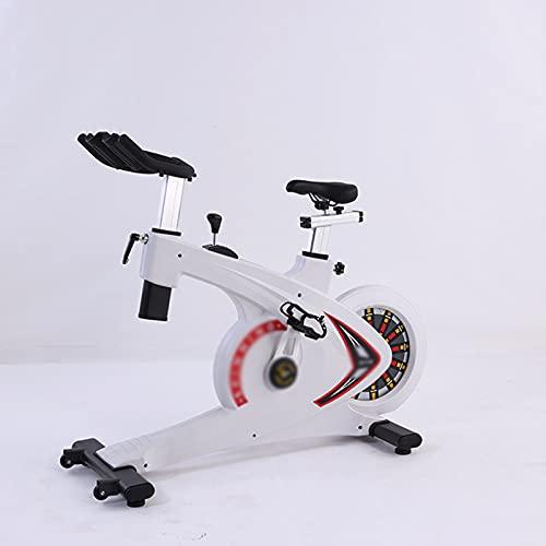 CJDM Bicicletas giratorias, Bicicletas estáticas silenciosas controladas magnéticamente, Bicicletas comerciales, Equipos de Fitness para Interiores, con una Superficie de 160x63x120cm.