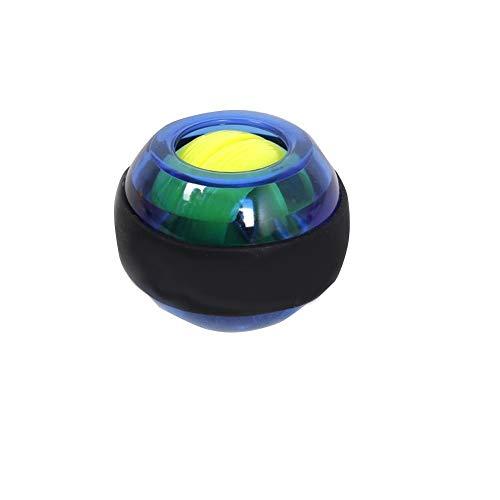 Without LED-Handgelenk-Kugel Trainer Relax Gyroskop der Qualitäts-LED-Stärkungs 4 Farben-Kugel-Fitness Arm Muskel Energie Grm Trainingsmaschine (Color : Blue)