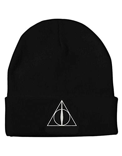 Harry Potter Mütze Beanie Deathly Hallows Logo Nue offiziell