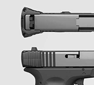 Recover Tactical Glock 17/19/22/23/24/35/36 and 43 Slide Rack Assist - No Modifications to Your Pistol Required - Get Extra Grip While Racking The Slide