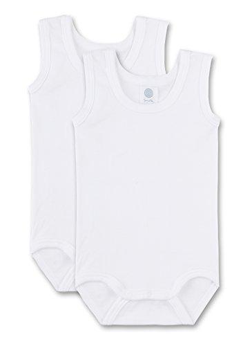 Sanetta - Body para bebé, Color Blanco 010, Talla 3 Meses (62)