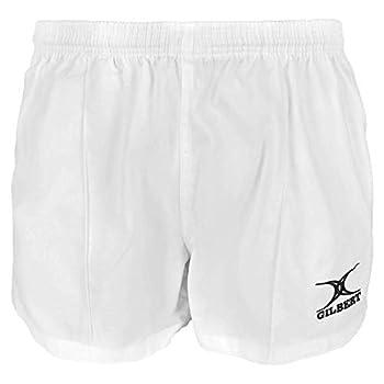 Gilbert Kiwi Pro Rugby Short  White  Small