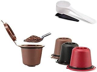 Kit 6 Cápsulas Nespresso Reutilizável Recarregável Sortido