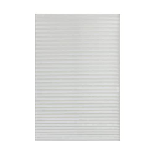 ZJJX Schnurloses Verdunkelungsrollo, Plissierter Papiervorhang, lichtfilternde Innenbefestigung, Schnurloses Verdunkelungsrollo für Schlafzimmer, Kinderzimmer