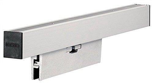 Geze Glasklemmplatten-Set Für Rollan 80/40 N und Perlan 140.   Ausführung: ohne Abdeckprofile