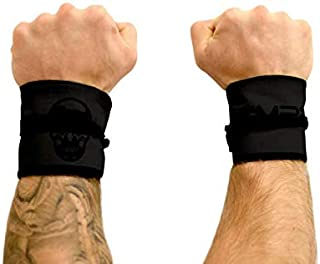 Gymreapers Strength Wrist Wraps for Cross Training, Olympic Lifting, Strength Training, WOD Workouts - Strong Wrist Support for Men and Women - Fits All Wrist Sizes | Men and Women