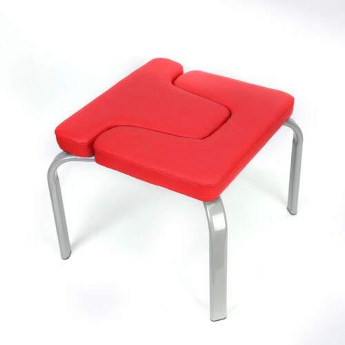 TFCFL - Banco de yoga para la cabeza, cómoda silla de yoga, uso en el hogar, taburete de inversión con almohadillas de poliuretano para ejercicios de fitness en el hogar, capacidad de 200 kg