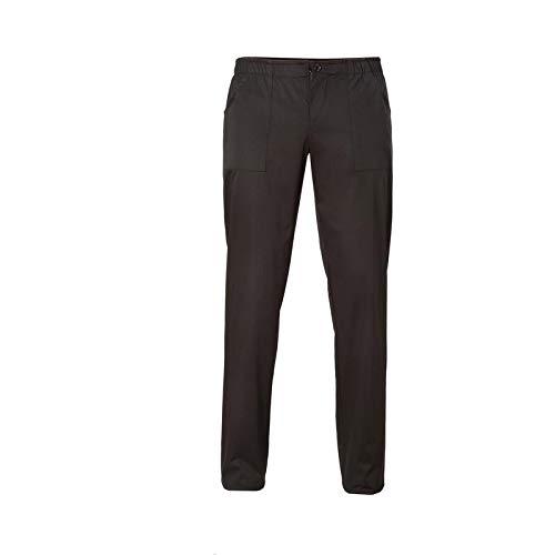 GIBLOR'S Pantalone Cucina/Ristorazione MOD. Enoch, Lungo, Cintura ad Elastico e Bottone (S)