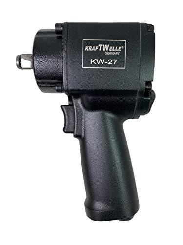 Kraftwelle 1/2 Zoll Mini Druckluft Schlagschrauber KW-27 Twin Hammer 850Nm KFZ Werkstatt Industrie Werkstatt