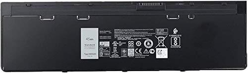 ASKC 45Wh WD52H Laptop Battery for Dell Latitude 12 7000 E7240 E7250 Series Notebook F3G33 KWFFN J31N7 451-BBFW 451-BBFX GVD76 HJ8KP NCVF0 7.4V 4-Cell