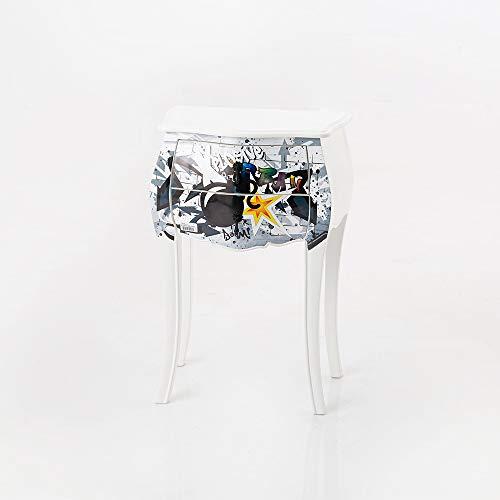 Amadeus - Chevet Boom 2 tiroirs 50 cm x 75 cm x 35 cm
