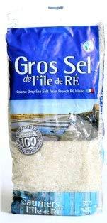 Gros Sel de l'île de Rè, grobes Meersalz von der Ile de Re, französisches Meersalz, 1kg