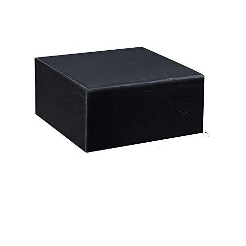 Gurkkst Abdeckung für Gartenmöbel Schutzhülle für Gartentisch Sitzgruppe Möbelsets mit Zugkordel Wasserdichtes Atmungsaktives Oxford-Gewebe Abdeckplane Gartenmöbel für Tisch und Stühle (135x135x75 cm)