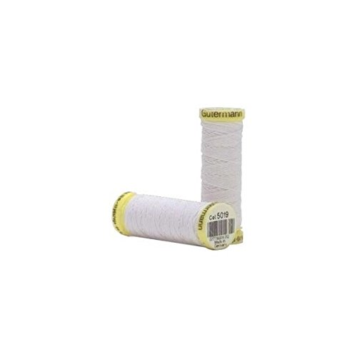 Gutermann Elastic Thread White