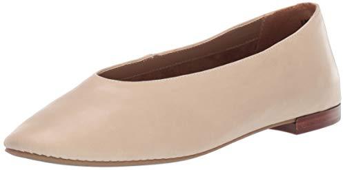 Aerosoles Women's Front Runner Ballet Flat, Bone Leather, 7