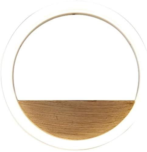 Woonkamer aan de muur Lamp geleid minimalistisch modern creatief decor geometrisch circulaire ringvormige studie slaapkamer nachtkastje Lamp van de Muur (Kleur: Diameter 40cm), Kleur: Diameter 20cm
