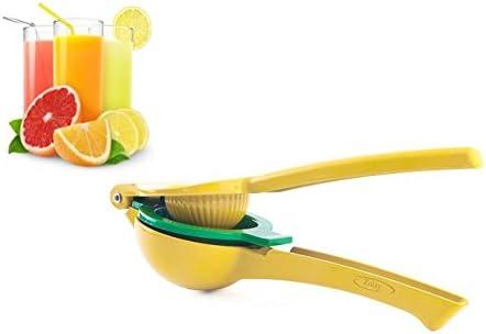 Zolay® Lemon and Lime Squeezer, Manual Citrus Press Juicer - High Premium Quality Metal