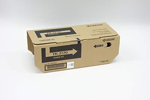 Kyocera TK-3170K Toner Black, Original Premium Cartdrige 1T02T80NL0. Compatible ECOSYS P3050dn, P3055dn, P3060dn