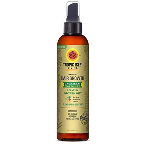 Tropic Isle Living Jamaican Black Castor Oil Daily Hair Growth Leave-in Conditioning Mist 8oz