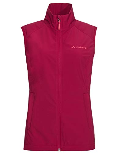VAUDE Damen Softshellweste Hurricane III, crimson red, 38, 413109770380