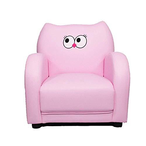 Zhenhe nórdico Living room chair cojines, muebles tapizados for los cabritos sitio del sitio de niños reclinable niños Sofá Sofá Silla de estar Muebles rosado del pájaro de juego relajante Lounging Ad