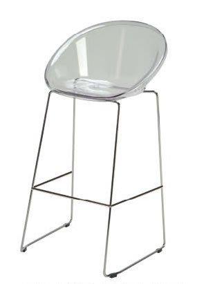 GRAND SOLEIL Grandsoleil dès la Sphère Fix de Bar, en Polycarbonate, Cristal Clair, 44 x 53 x 98 cm
