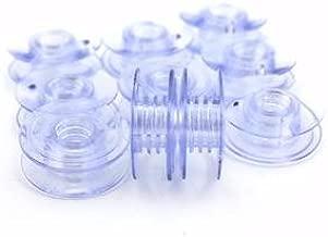 Cutex (TM) Brand 10 Pk. Plastic Bobbin #4114401 for Husqvarna Viking Sewing Machine
