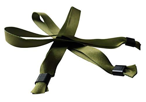 20 x stof festivalbanden - met plastic schuifsluiting - nieuwe modekleuren! terrarium moss