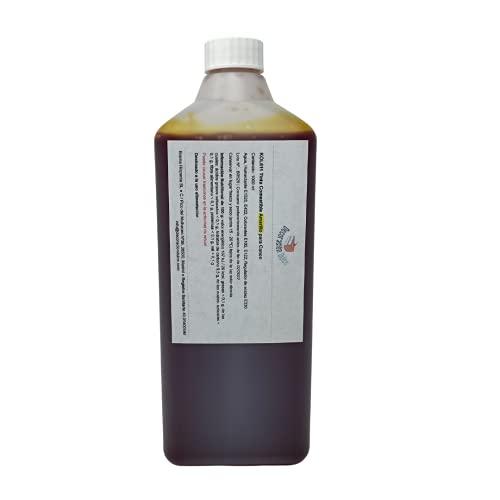 Botella de tinta comestible de 1000ml para usar con impresoras Canon. Bramacartuchos, envío desde Madrid (Amarillo 1000ml)