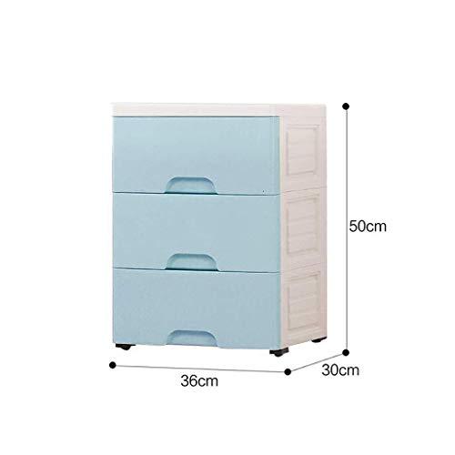 U/A Umweltschutz-Material Küchenarbeitsplatten Informationen Kabinett Hygiene Produkte Badezimmer-Speicher-Plastik Pp 36x30x50cm Aufbewahrungsbox aycpg (Color : C1)