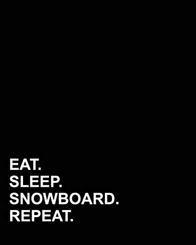 Eat Sleep Snowboard Repeat: Blank Sheet Music - 12 Staves, Sheet Music Blank /Sheet Music Paper /Music Sheet Blank / Sheet Music Notebook